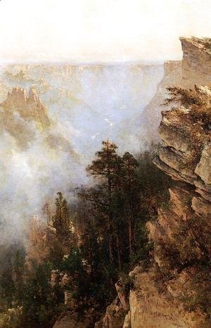 Thomas Hill - Yosemite Canyon