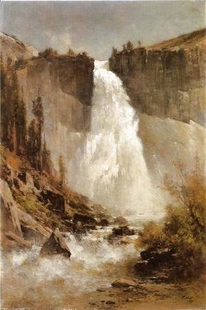 Thomas Hill - The Falls of Yosemite