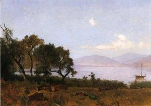 Thomas Hill - Morning, Clear Lake