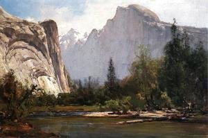 Thomas Hill - Royal Arches and Half Dome, Yosemite