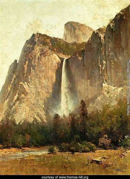 Bridal Veil Falls - Yosemite Valley