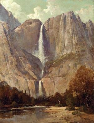Thomas Hill - Bridle Veil Fall, Yosemite