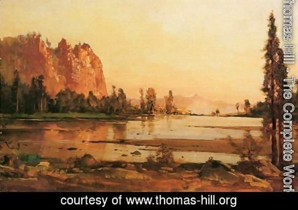 Thomas Hill - Crescent Lake
