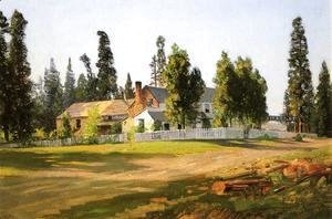Thomas Hill - Sisson's Inn, near Mount Shasta