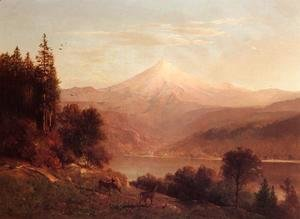 Thomas Hill - View of Mount Hood