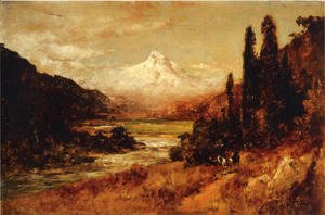 Thomas Hill - Mount Hood
