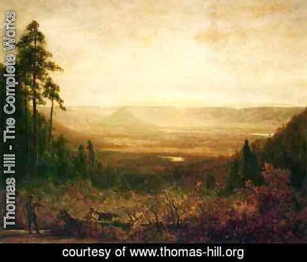 Thomas Hill - Hunter at Sunrise