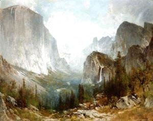 Piute Indians at the Gates of Yosemite