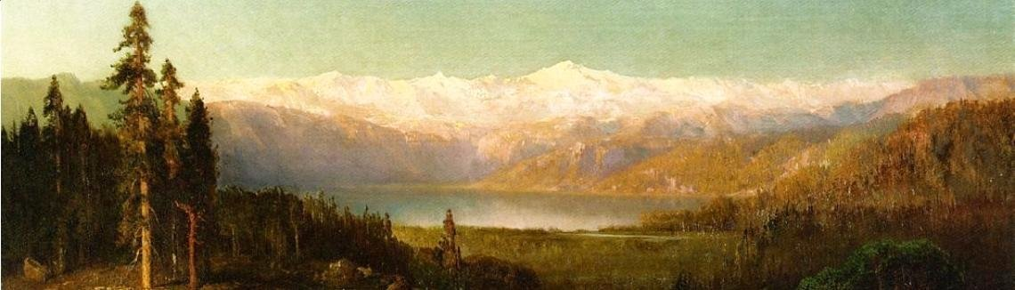 Thomas Hill - Rocky Mountains