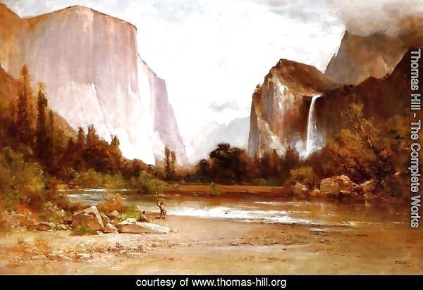 Piute Indians Fishing in Yosemite