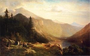 Thomas Hill - An Artist's View of Mt. Lafayette