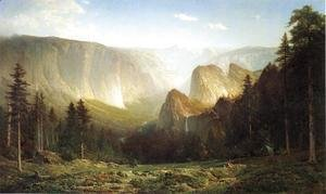 Thomas Hill - Piute camp, Great Canyon of the Sierra, Yosemite