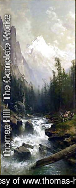 Thomas Hill - Mountain Stream