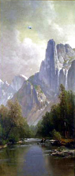 Thomas Hill - Yosemite Valley with Half Dome