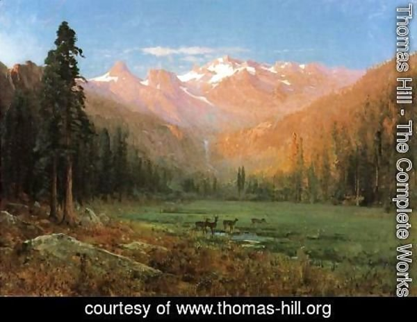 Thomas Hill - View of Cascade Lake, near Tahoe