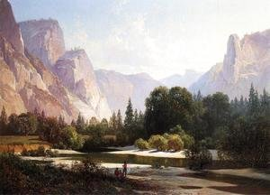 Thomas Hill - Yosemite Valley III