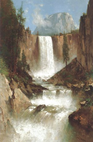 Thomas Hill - Vernal Falls Yosemite 1889