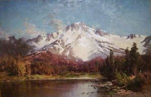 Thomas Hill - Mount Tallac from Lake Tahoe