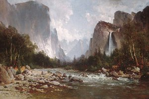 Thomas Hill - View of Yosemite Valley 1885