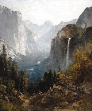 Thomas Hill - Bridal Veil Falls, Yosemite