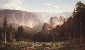 Thomas Hill - Grand Canyon of the Sierras, Yosemite  1871